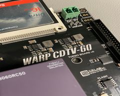 Photos of prtotypes: Warp 3060/4060 and CDTV-60