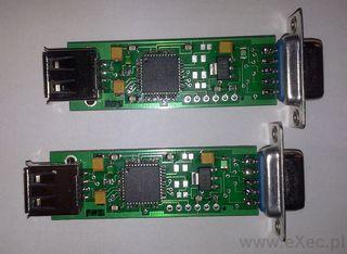 Ryś - pierwsza wersja deweloperska adapteru USB dla Amigi
