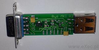 Ryś - trzecia wersja deweloperska adapteru USB dla Amigi