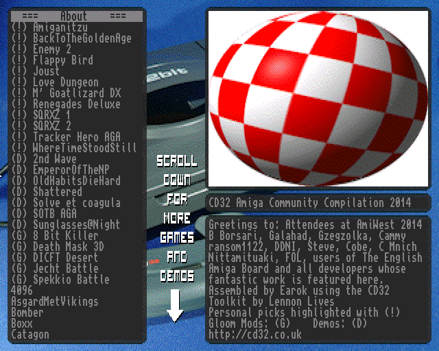 CD32 Amiga Community Compilation