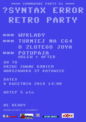 Syntax Error Retro Party