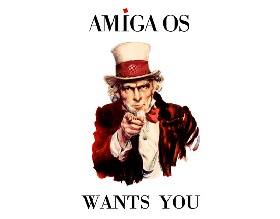 amigaos wants you