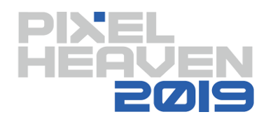 Pixel Heaven 2019 without Trevor Dickinson