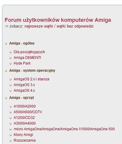 Amiga forum / Neostrada 6Mbit