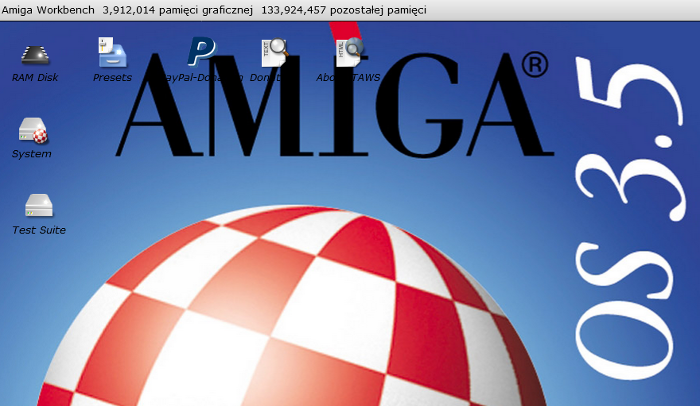 The Amiga Workbench Simulation