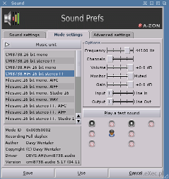 Enhancer Software - Sound