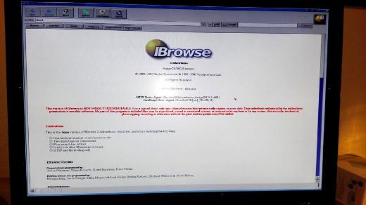 IBrowse 2.5 Demo