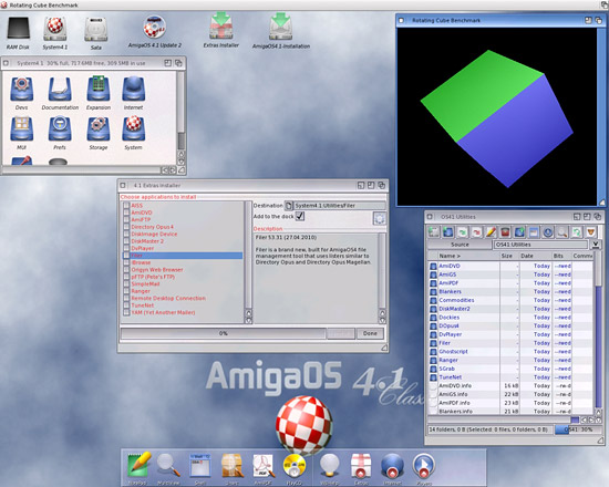 AmigaOS 4.1 Classic Workbench Installer